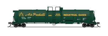 Cryogenic Tank Car, Air Products, Single Car