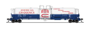 Cryogenic Tank Car, American Cryogenics, 2-pack