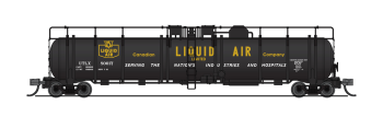 Cryogenic Tank Car, Canadian Liquid Air Co., Single Car
