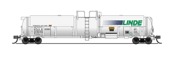 Cryogenic Tank Car, Linde, Single Car