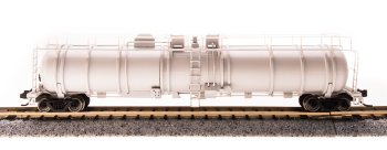 Cryogenic Tank Car, Unlettered, Painted Gray, Type A, Single Car