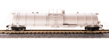 Cryogenic Tank Car, Unlettered, Painted Gray, Type C, Single Car