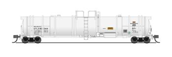 Cryogenic Tank Car, UTLX, White, Single Car