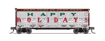 "Holiday Season Stock Car, ""Happy Holidays"", No Sound, 2-pack"