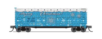 "Holiday Season Stock Car, ""Merry Christmas"", No Sound, 2-pack"