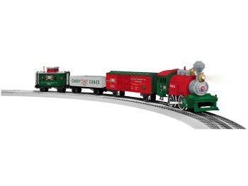 Lionel Junction Christmas Set w/ illuminated track