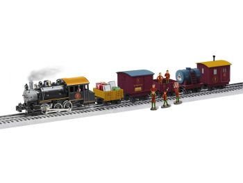 POLAR EXPRESS Elf Work Train LionChief Set