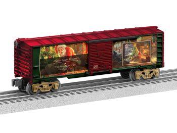 Thomas Kinkade - Santa's Special Delivery Boxcar