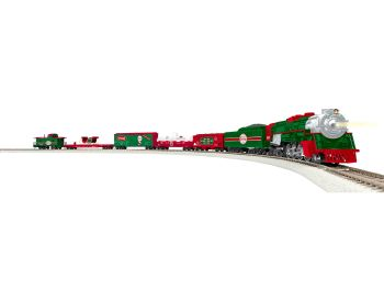 HO LionChief North Pole Central Steam Freight Set/2-8-4