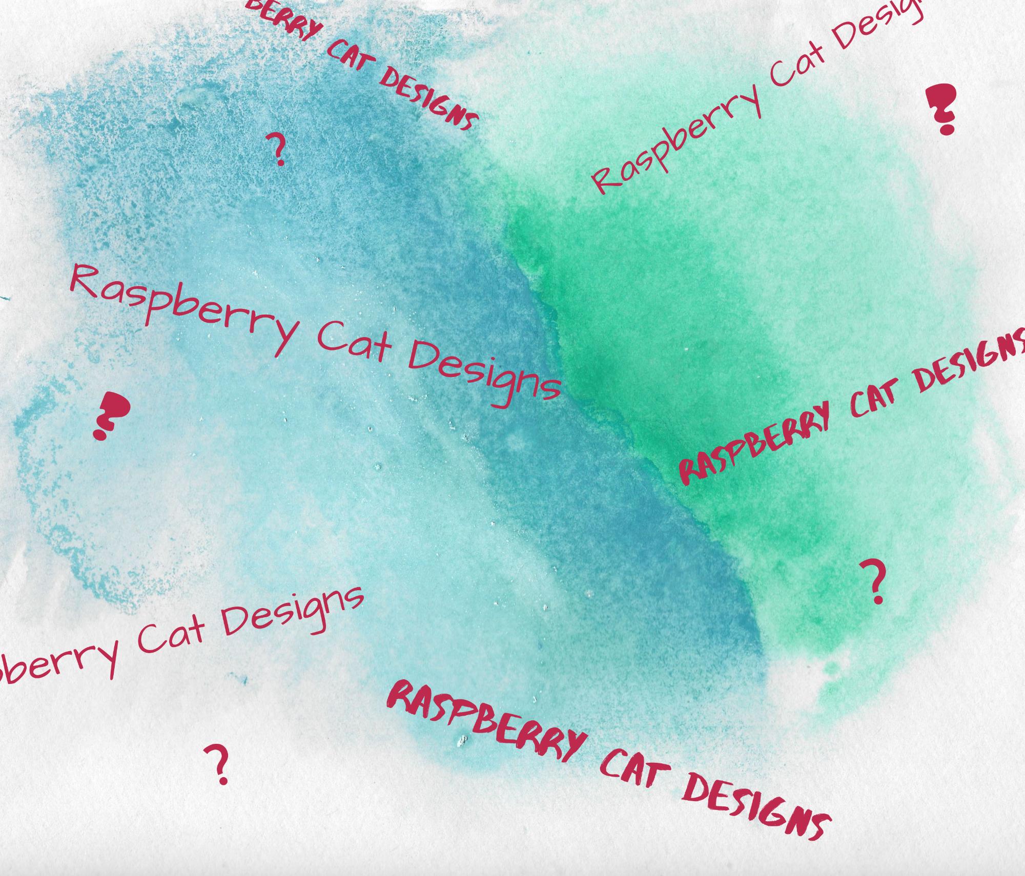 Raspberry cat designs blog