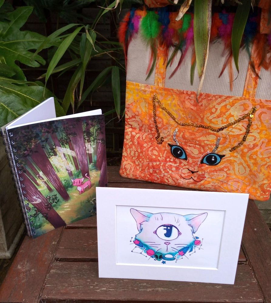 Cute Cat Bundle - Limited Edition www.raspberrycatdesigns.co.uk