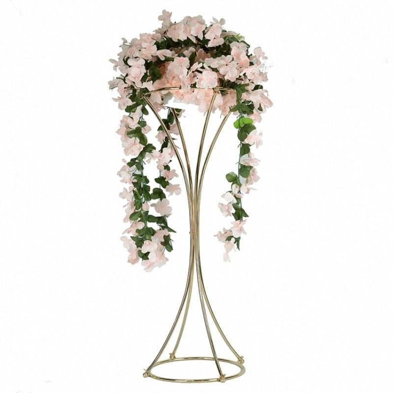 Metal Column Vases