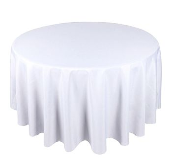 """Round Table Linen- 132"""""""