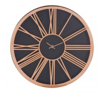 Baillie Black Face Wall Clock