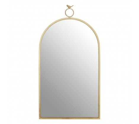 Bird Curved Wall Mirror