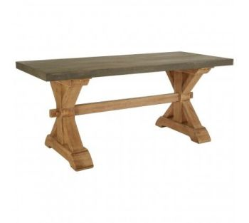 Pompeii Fir Wood Dining Table