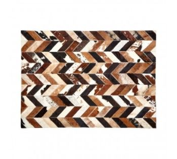 Safira Natural Patchwork Rug