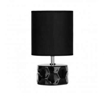 Honeycomb Black Table Lamp