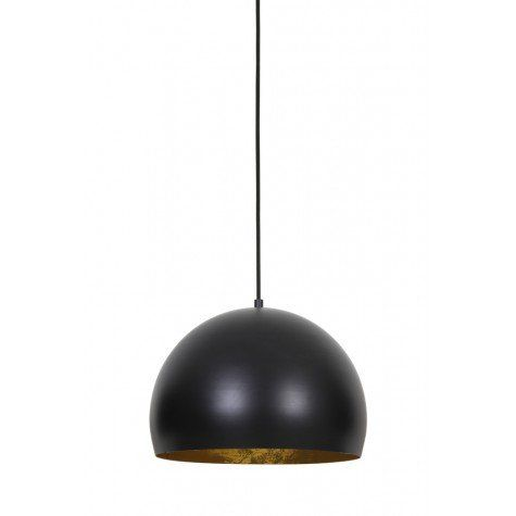 Jaicey Matt Black & Gold Hanging Light