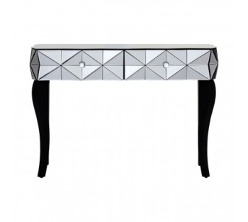 Soho Smoke Glass Console Table
