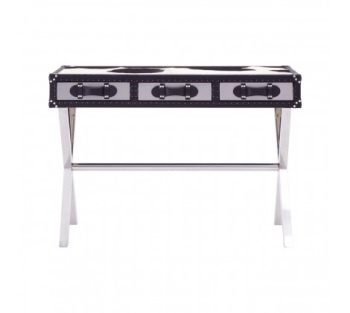 Genuine Cowhide Console Table