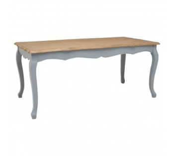 Henley Antique Grey Dining Table