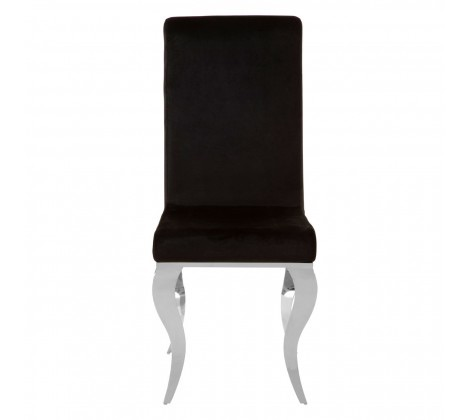 Eliza Dining Chair With Silver Frame