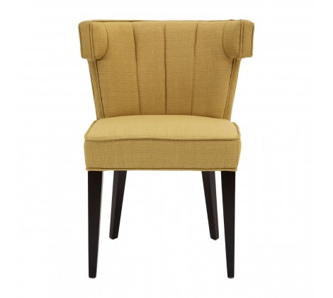 Oria Yellow Linen / Cotton Dining Chair
