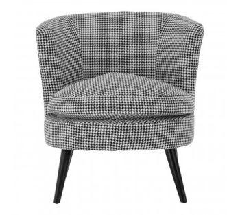Dogtooth Round Chair