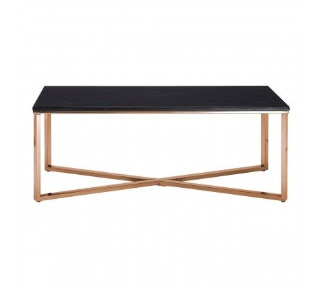 Allure Cross Base Coffee Table