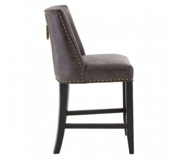 Rodeo Bar Stool Dark Brown