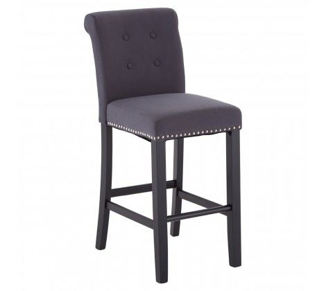 Regents Park Bar Chair Grey