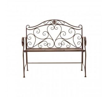 Finchwood Jardin Bench Rustic