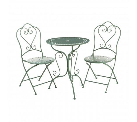 Finchwood Jardin Green Table Set