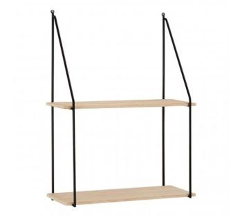 Brixton 2 Tier Metal Shelf