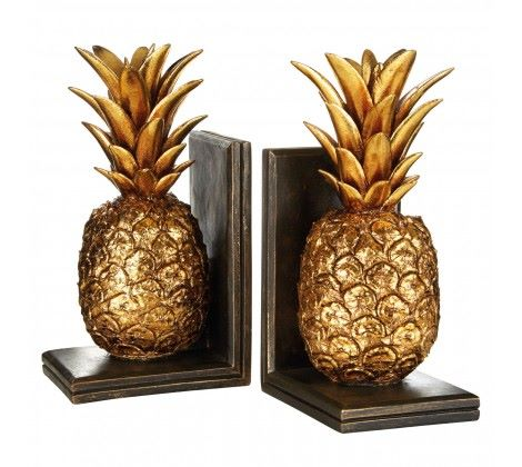 Set of Pineapple Bookends P