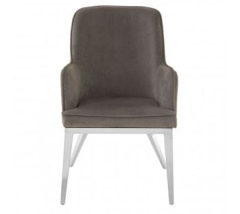 Eliza Black Velvet Dining Chair
