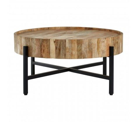 Crest Mango Wood Coffee Table