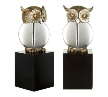 Owl Bookends Antique
