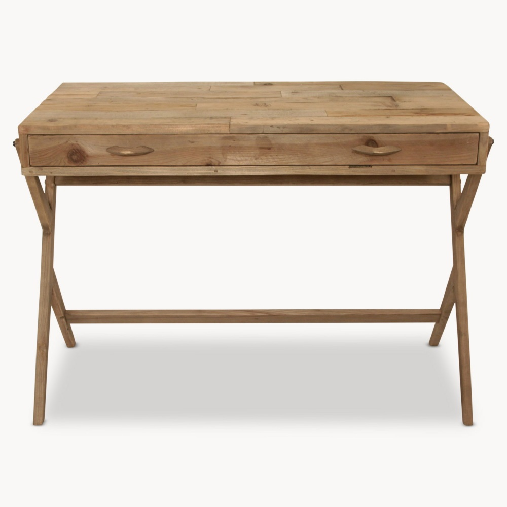 Woodcroft Bleached Pine Desk OW