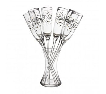 Verity Party Champagne Flutes