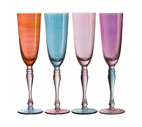 Aurora Champagne Glasses 273Ml Set of 4