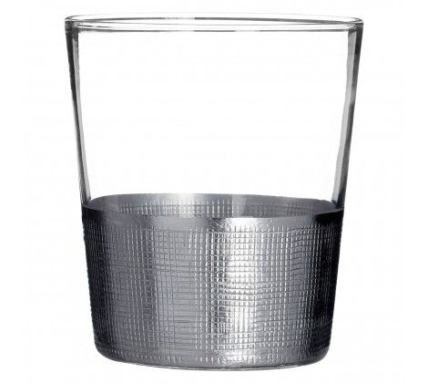Apollo Clear Glass Tumblers Set of 4
