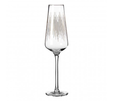 Deco Champagne Glasses Set of 4