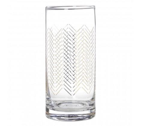 Jazz Highball Glasses Set of 4