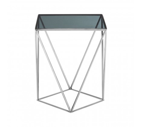 Shalimar Square Quadrilateral Side Table