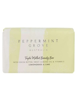 Peppermint Grove Lemongrass & Lime Beauty Bar