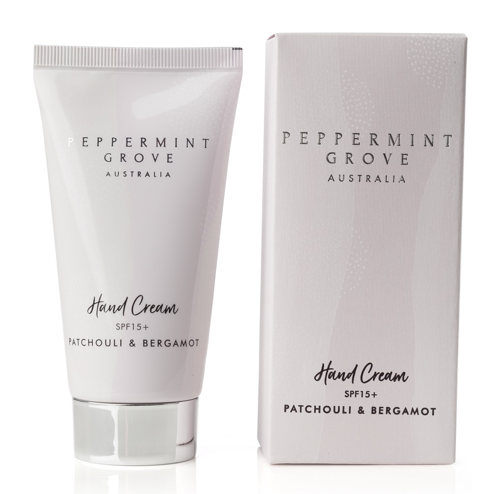 Patchouli & Bergamot Hand Cream Pump
