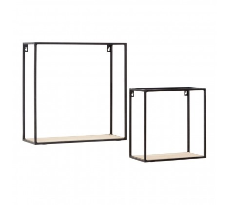 Brixton Cuboid Shelf Set