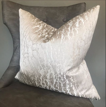 Luxury Alabaster Handmade Cushion